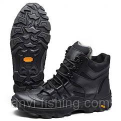 Ботинки зимние тактические - Черные Размер 41