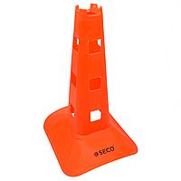 Тренировочный конус с отверстиями SECO® 38 см оранжевого цвета, фото 1