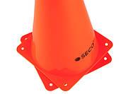 Тренировочный конус SECO 23 см цвет: оранжевый , фото 1