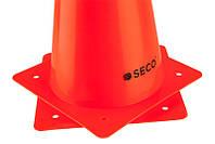 Тренировочный конус SECO 30 см цвет: оранжевый, фото 1