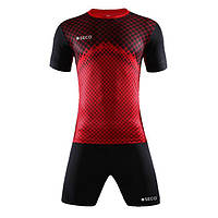 Форма футбольная SECO Geometry Set цвет: черный, красный, фото 1