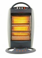 Мощный галогенный инфракрасный обогреватель Kitchin Plus KP-520, 400Вт - 800Вт - 1200Вт, тепловентилятор