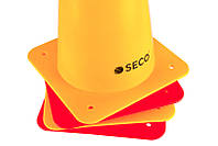 Тренировочный конус SECO 48 см цвет: красный , фото 1