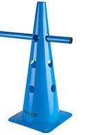 Тренировочный конус с отверстиями SECO 48 см цвет: синий , фото 1