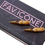 Картриджи PMU FAVICON 3 Round Liner Micro (0.30) контурные 20 штук, фото 5