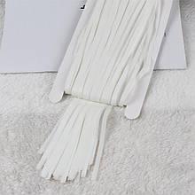 Дождик штора из фольги для  фотозон белая  1*2 м