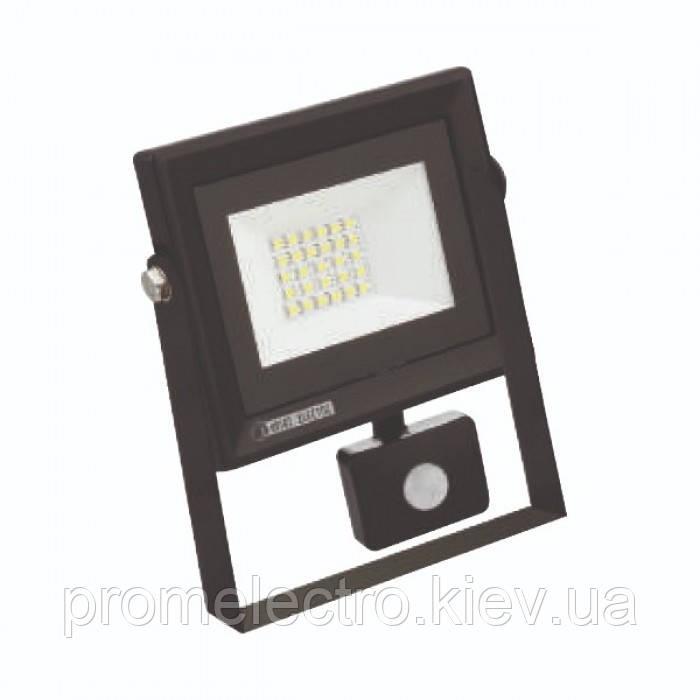 Прожектор светодиодный с датчиком движения PARS/S-20 20W 6400K
