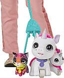 FurReal Walkalots Big Wags Unicorn  Hasbro интерактивный единорог фурриал на поводке, фото 8