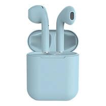 Беспроводные bluetooth-наушники i12 5.0 с кейсом, blue, фото 3