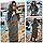 Зимовий пуховик куртка курточка з капішоном пальто оверсайз ковдра одеяло (плащівка + силікон), фото 9