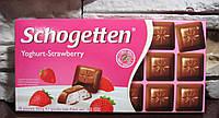Шоколад Trumpf Schogetten Yoghurt-Strawberry 100 гр