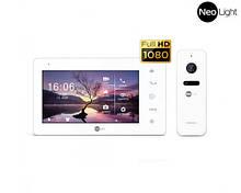 Комплект видеодомофона NEOLIGHT NeoKIT HD + WF White