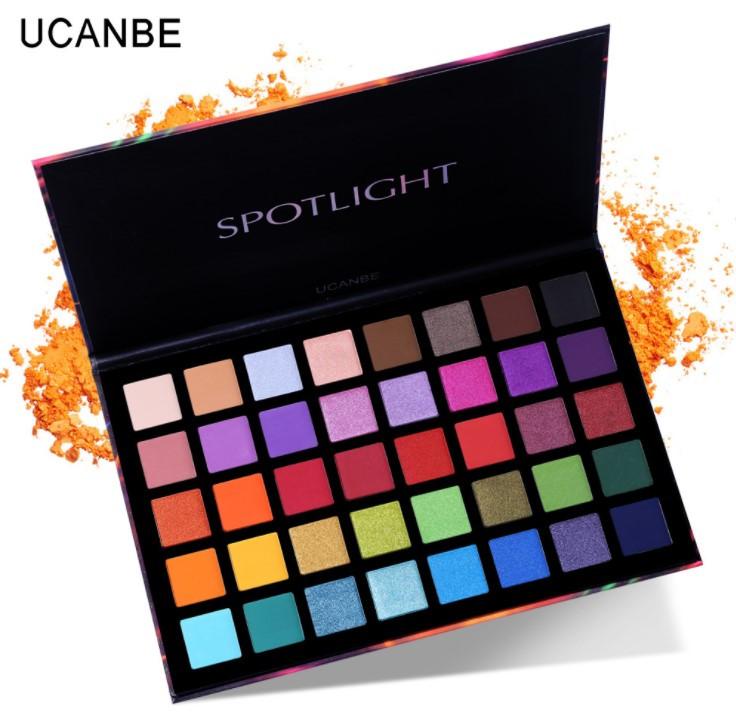 Палетка теней для век Ucanbe Spotlight