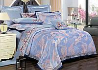 Комплект постельного белья Love You 1-34 Жаккард Th17418 КПБ евро вышивка