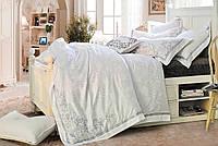 Комплект постельного белья Love You 1-36 Жаккард Th17446 КПБ евро вышивка