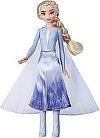 Кукла ЭЛЬЗА с мерцающим платьем Frozen 2 Disney Frozen 2 Magical Swirling Adventure Elsa Холодное сердце 2, фото 1