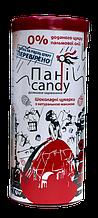 """Шоколадные конфеты без сахара """"Госпожа Candy"""" из молочного шоколада с натуральной малиной 100 г"""