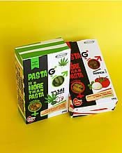"""Макаронные изделия каннабис, спирулина, тыква, шпинат """"Fusilli"""", Healthy & Delicious 240г"""