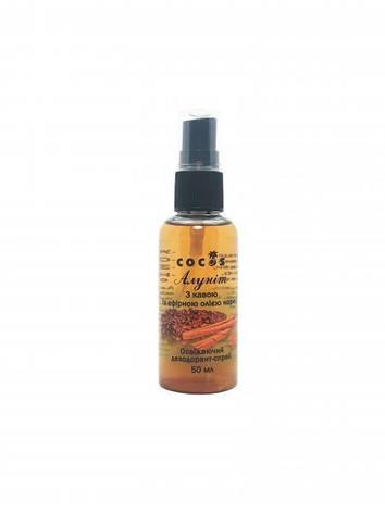 Дезодорант Алуніт спрей з кавою та єфірним маслом Кориці, 50 мл, фото 2