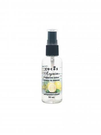 Дезодорант Алуніт спрей з єфірним маслом Полину та Лимону, 50 мл, фото 2