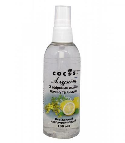 Дезодорант Алуніт спрей з єфірним маслом Полину та Лимону, 100 мл, фото 2