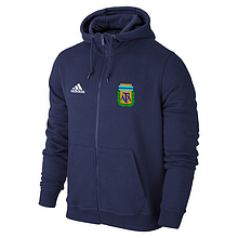 Мужская спортивная толстовка (кофта) сборной Аргентины-Адидас,  Argentina, Adidas, синяя