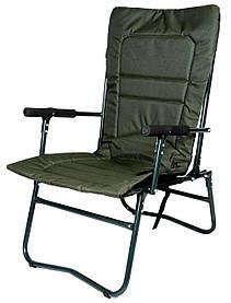 Кресло складное для рыбалки пикника на даче с чехлом Ranger Белый Амур 92,5х67х57 см зеленое