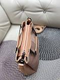 Сумочка комбінована нат.замша/кожзам якість люкс арт.0221-1, фото 3