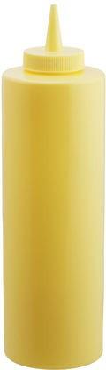 Диспенсер пластиковий для соусів і сиропів жовтого кольору V 350 мл (шт)