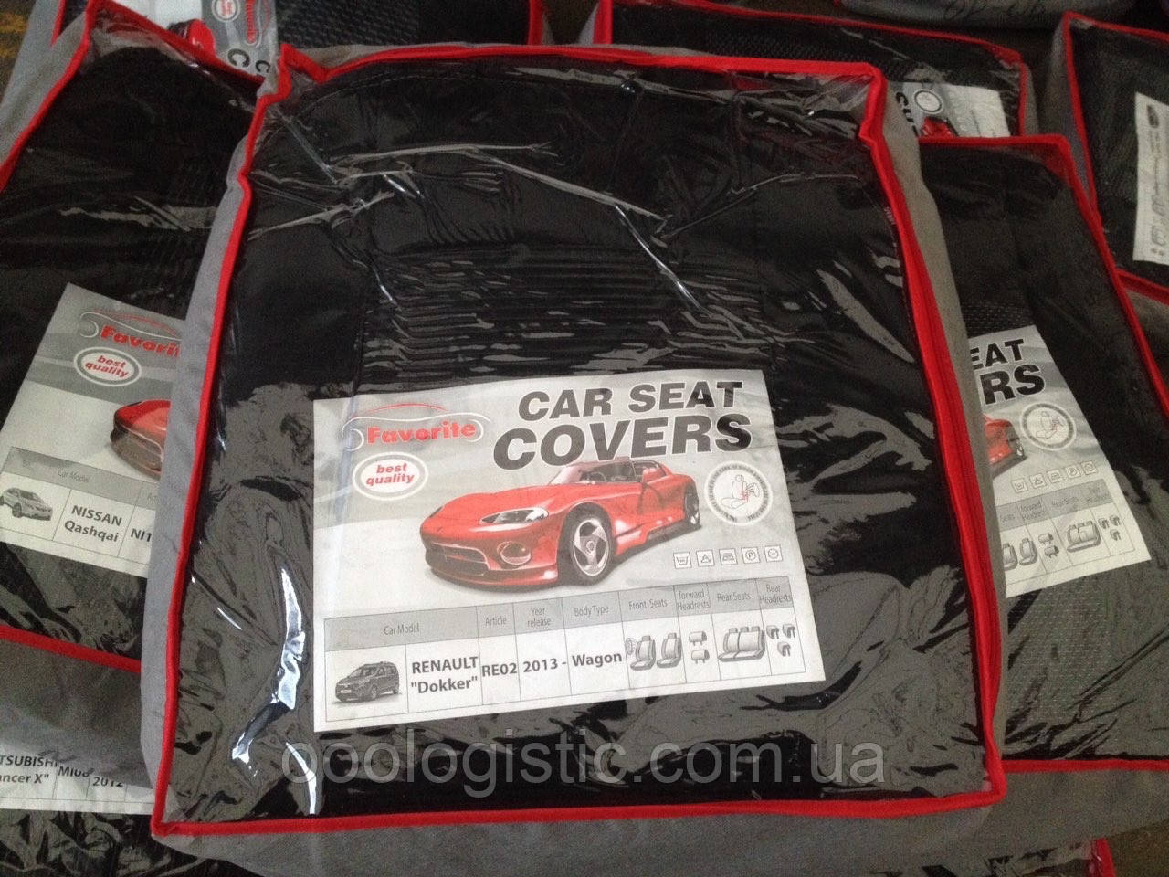 Авточехлы Favorite на Renault Dokker 2013> wagon ,Рено Доккер модельный комплект