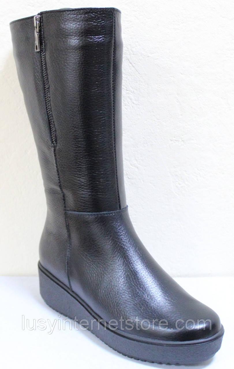 Сапоги женские зимние большого размера от производителя модель РС103-1