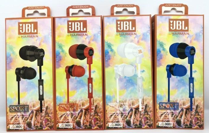 Навушники вакуумні JBL JB3600