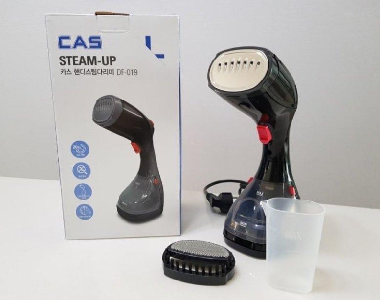 Відпарювач steam brush cas DF-019, ручний пароочисник, прилад для прасування