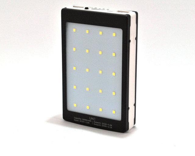 Power Bank SOLAR c LED L5 25000 mAh