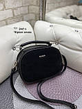 Клатч комбинированный нат.замша/кожзам качество люкс арт.2547-1, фото 10