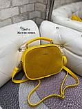 Клатч комбинированный нат.замша/кожзам качество люкс арт.2547-1, фото 7