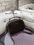 Клатч комбинированный нат.замша/кожзам качество люкс арт.2547-1, фото 5