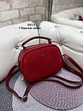 Клатч комбинированный нат.замша/кожзам качество люкс арт.2547-1, фото 8