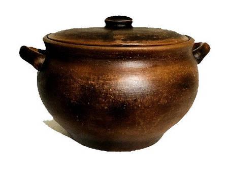 Супники, Кастрюли, глиняные.