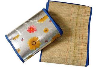 Пляжный коврик из бамбука.длина 180 см ширина 150 см