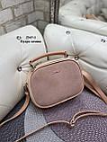 Клатч комбинированный нат.замша/кожзам качество люкс арт.2547-1, фото 2