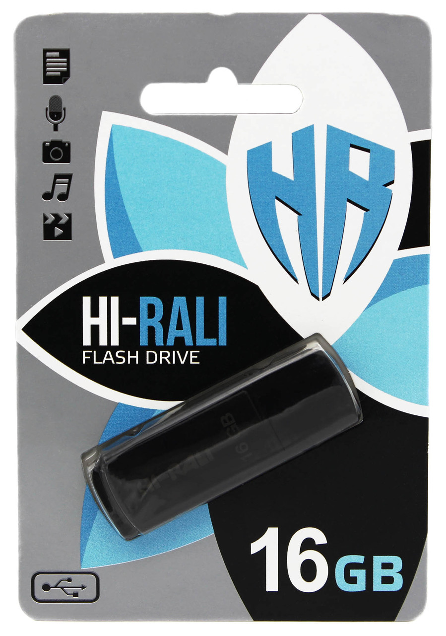 USB флеш Hi-Rali 16GB/ HI-16GBTAG (Гарантия 3года)