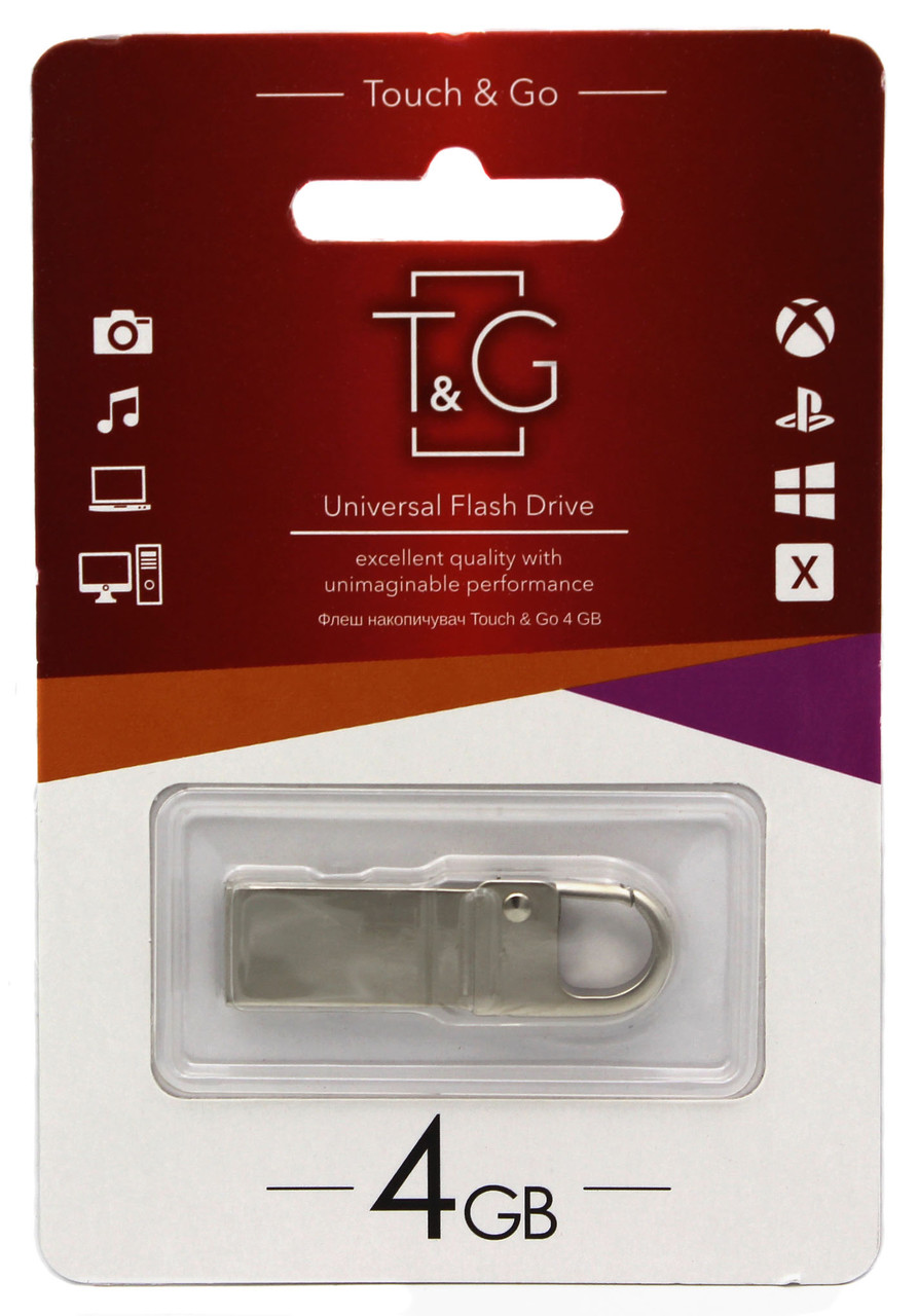 USB флеш T&G 4GB/ TG027-4G (Гарантия 3года)