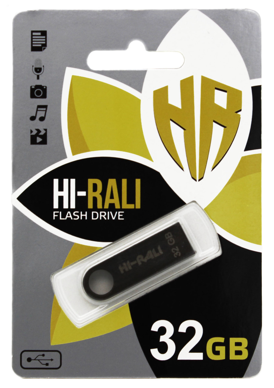 USB флеш Hi-Rali 32GB/ HI-32GBSH (Гарантия 3года)