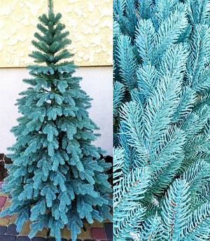Ель искусственная литая Ковалевская голубая 1,50 м (150см)