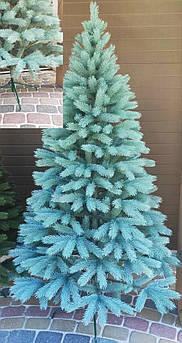 Ель искусственная литая Буковель голубая 1,80 м (180см)