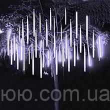 Гирлянда Тающие сосульки LED 50см 8шт, холодно-белый цвет