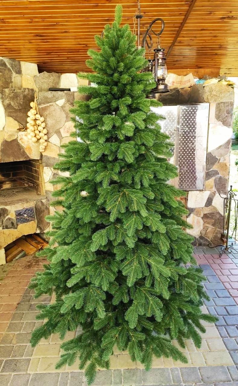 Ель искусственная литая Ковалевская зеленая 2,50 м (250см)