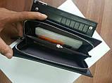 Мужской кошелек клатч портмоне Baellerry Classic черный, фото 5