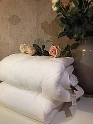 Одеяло Бамбуковое Гипоаллергенное Полуторное Размер 155*215 см Белое Бежевое В Чехле Турция Elita